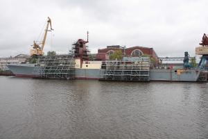 """На фрегат """"Адмирал Горшков"""" заселяется экипаж"""