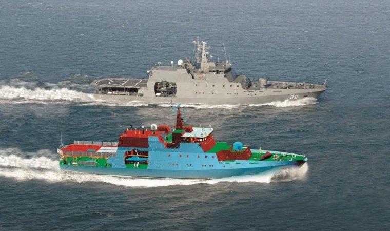3D-модель корабля в системе Foran