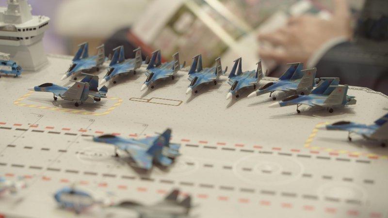 Концепт-проект перспективного авианосца для ВМФ России