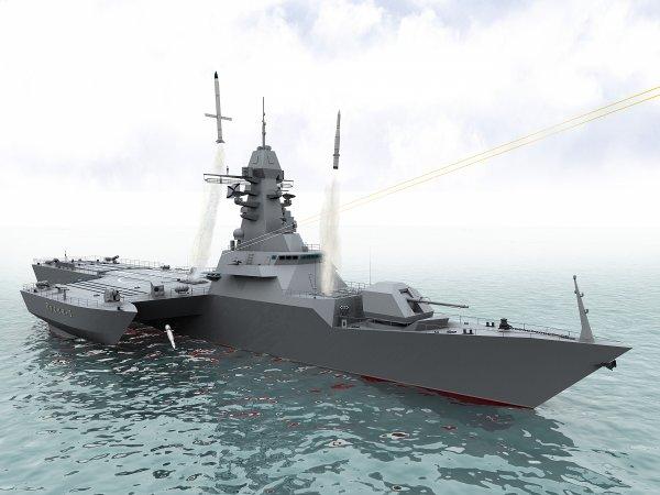 "Проект малого фрегата ""Русич-1"""