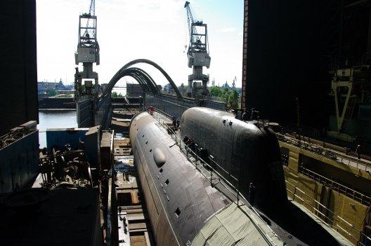 """Многоцелевая атомная подводная лодка проекта 885 """"Северодвинск"""""""