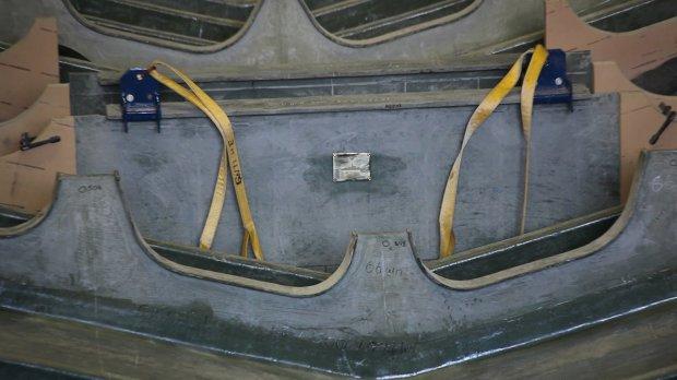 Корпусные конструкции тральщика проекта 12700