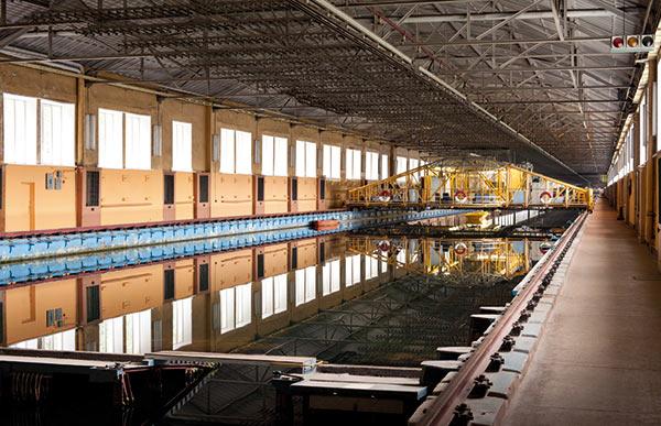 Глубоководный бассейн Крыловского научного центра