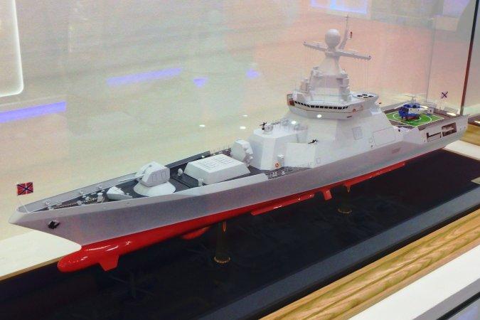 """Многоцелевой корабль подкласса """"корвет"""" разработки Крыловского центра"""