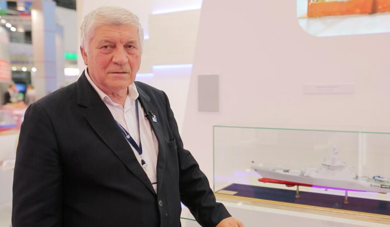 Валентин Белоненко, начальник отдела перспективного проектирования боевых надводных кораблей Крыловского государственного научного центра