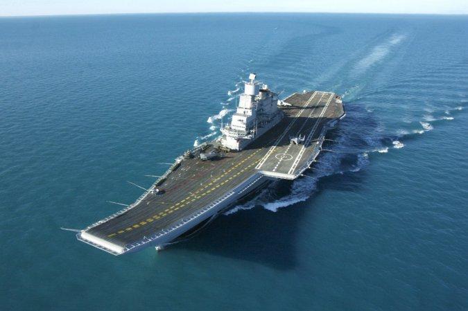 """Авианосец """"Викрамадитья"""", ВМС Индии"""