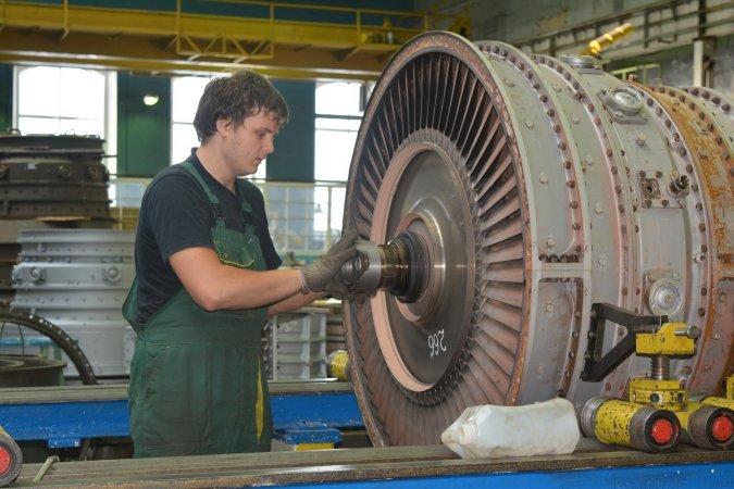 Ремонт газотурбинного двигателя