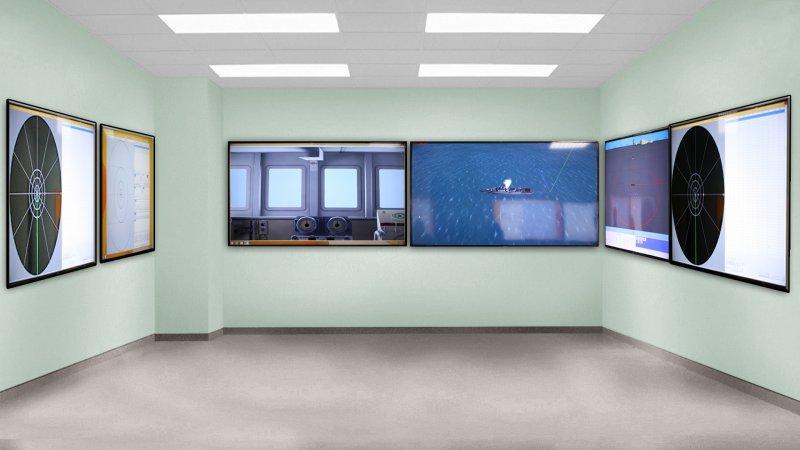 Комплекс оборудования и программного обеспечения имитационно-моделирующего стенда (КИМС) надводного корабля