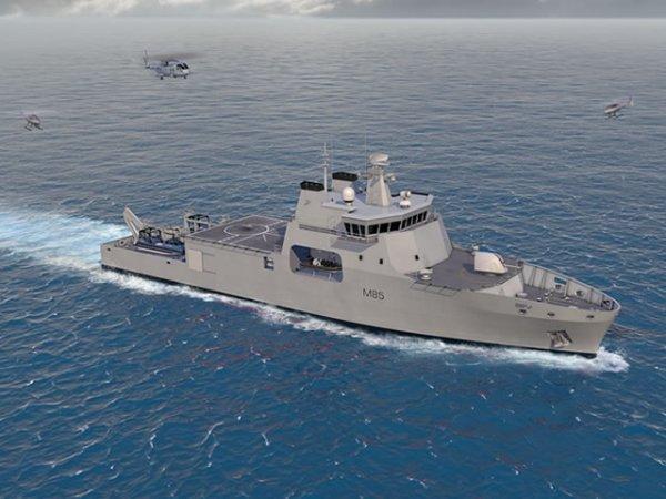 Концепция корабля противоминной обороны Venari-85, Великобритания