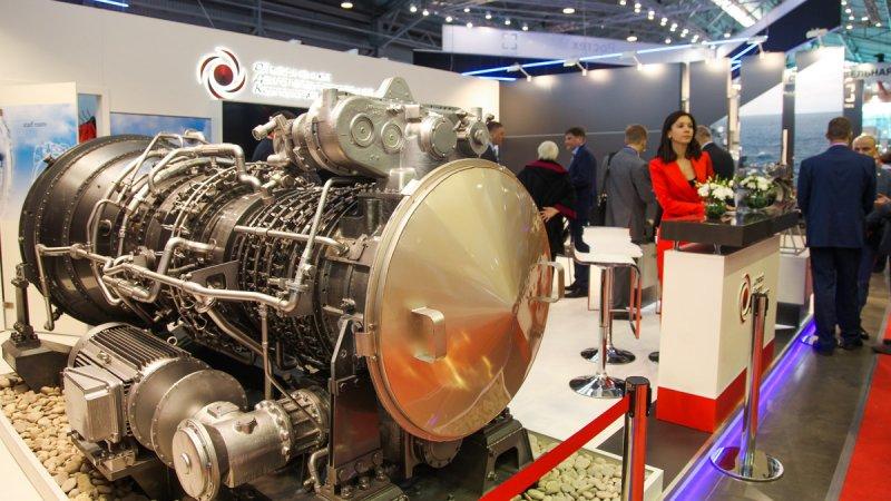 Стенд Объединенный двигателестроительной корпорации