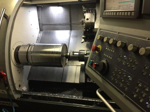 Рубашка втулки рабочего цилиндра, процесс обработки на станке с ЧПУ
