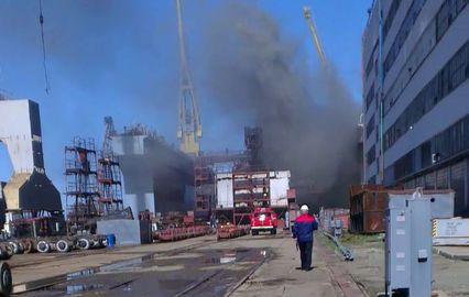 """Пожар на подводной лодке """"Томск"""" в 2013 году"""