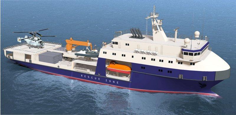 Малый морской танкер проекта 03182