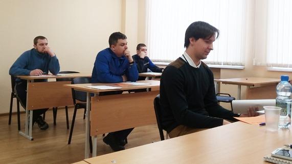 Занятия в Школе молодого рабочего