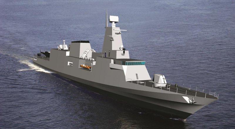 Возможный облик новых кораблей класса Tamandare ВМС Бразилии