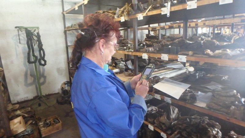 Проверка наличия комплектующих на складе 33 СРЗ