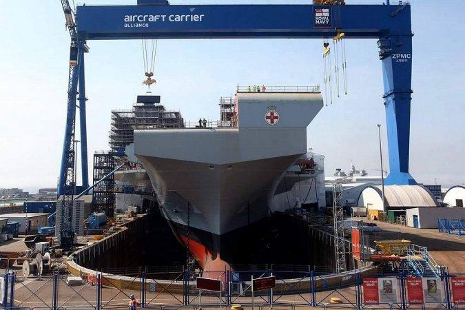"Авианосце ""Принс оф Уэльс"" (HMS Prince of Wales), ВМС Великобритании"