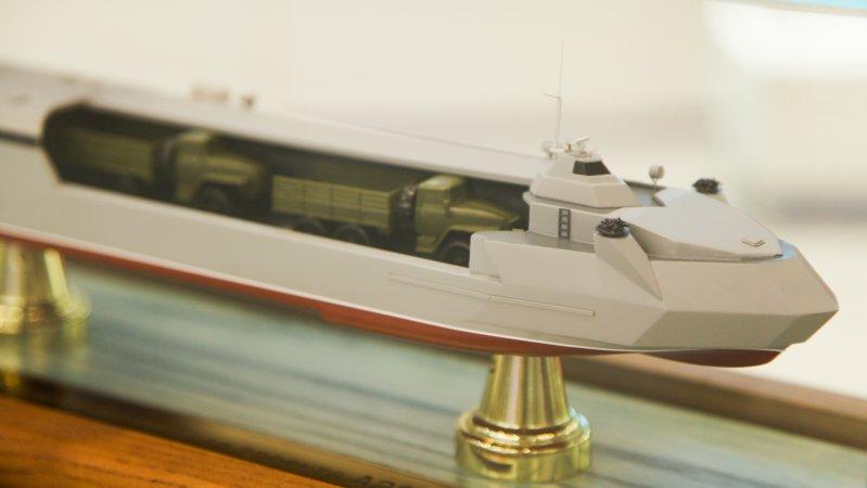 Десантное судно проекта А223 (Зеленодольский завод имени Горького)